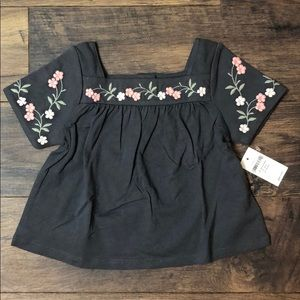 GAP Shirts & Tops - New Baby Gap Embroidered 18-24 Month Top